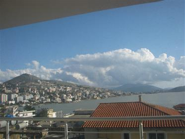 Beautiful new residence with sea view in the biggest building in Saranda for sale!