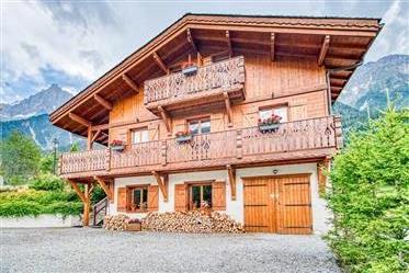 Chalet único en el valle de Chamonix