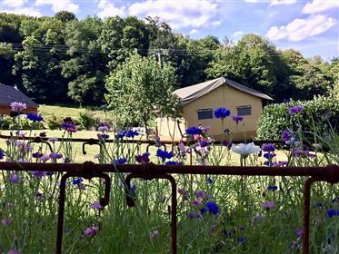 Tourist (Pferd) Domain zum Verkauf in Burgund bereit zu bewegen!