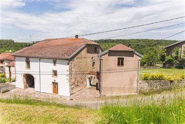 Fraai gerenoveerde dorpsboerderij uit 18de eeuw.