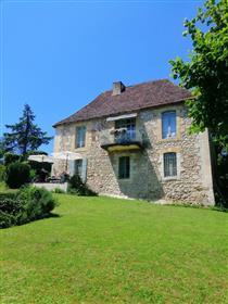 16Th Century Stone Pergordian CountryHouse