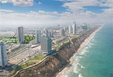 New apartment, 138Sqm, on the 24th floor, in Netanya