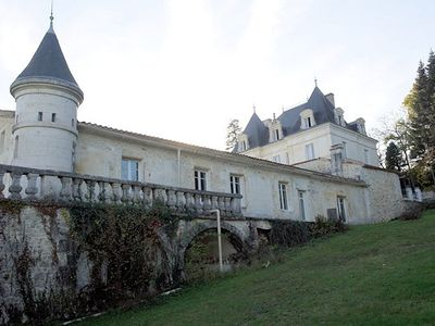 Extremely well renovated chateau, annexes, pool  6 ha