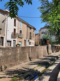 Nice village house with 80 m² of living space and superb roof terrace.