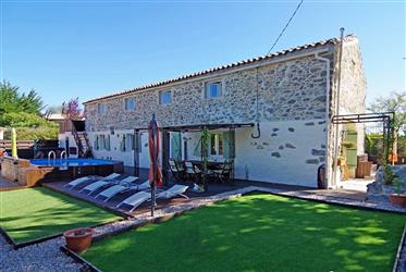 Beautiful barn conversion with 4 bedrooms, 3 bathrooms on 38...