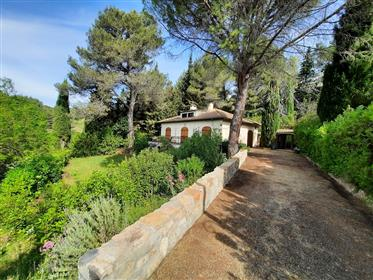 Pretty character villa with 125 m² of living space and 3347 m² with pool and olive grove !