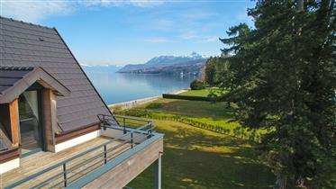 New Build Apartment near Evian on Lake Geneva with Panoramic Lake Views