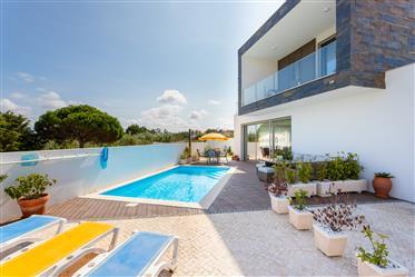 Moderne freistehende Villa in Strandnähe Salir do Porto