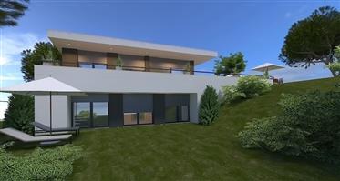 Villa contemporaine avec vue sur mer a Salir do Porto
