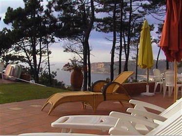 Superbe maison de luxe avec vue mer sur Nazare