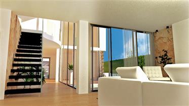 Villa de luxe en construction avec piscine - Pêra