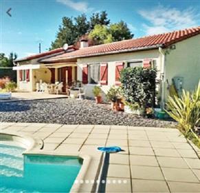 Maison indépendante 116m2 avec piscine et garage 54m2 sur un...