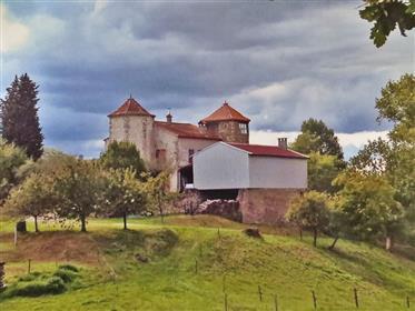 Château ancien relais Cathare du XVIIs 183m2 ave 50ha de terres réparties en 34ha de bois et 16ha de