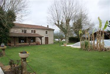 """Magnificent """"Ferme auberge"""" In service, on 2 ha of land with..."""