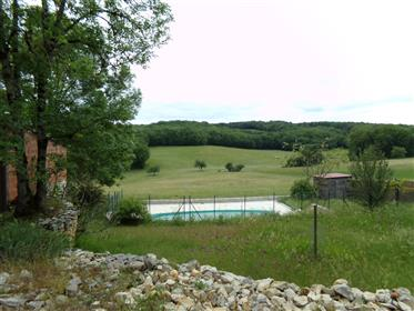 Stone property with views, swimming pool and garage on 1485 ...