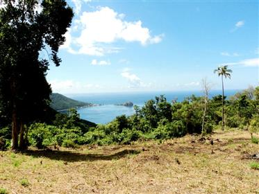 3 Acres with Spectacular Sea Views in the Heights of Pointe Michel