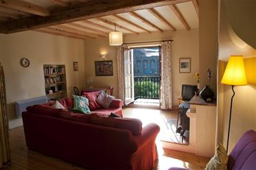 Lagrasse - riverside pretty stone  medieval house for sale