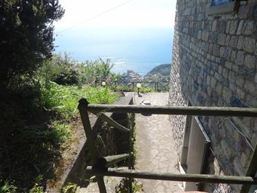 Cinque Terre · Casale con vista mare e grande giardino