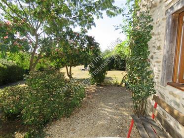 House, Gite and pretty garden.