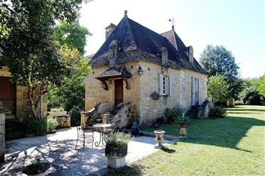 In the heart of the Perigord Noir on a beautiful spot....