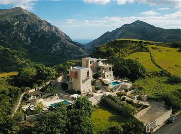 Two villas each with private pool, between Plakias & Spili