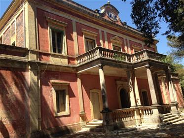 Liberty style manor house