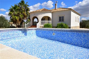 Country home with private swimming pool