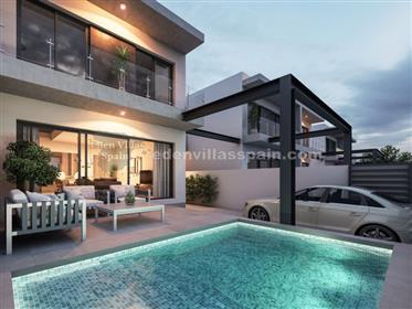 Brand new town house with private pool