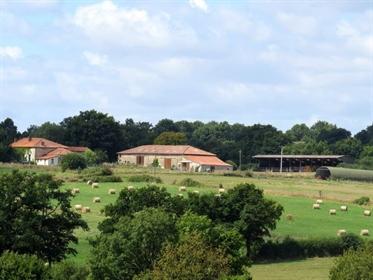 Equestrian centre and gîte complex, 21.5ha