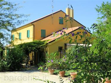 Spacious, restored country house close to the Sea, comune of Senigallia