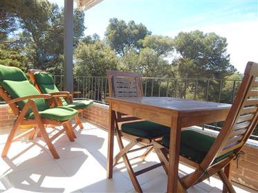 Tamariu, Appartement entièrement équipé et avec jardin et pi...