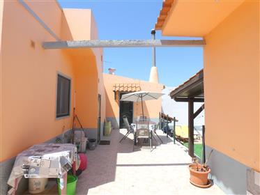 3 bedroom villa with garage and sea view near Fuseta
