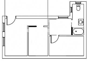Ny: 35 m²