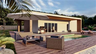 Nouvelle villa bioclimatique  vue mer
