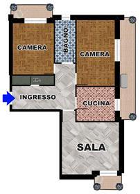 Διαμέρισμα : 95 τ.μ.