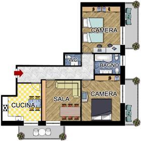 Διαμέρισμα : 100 τ.μ.