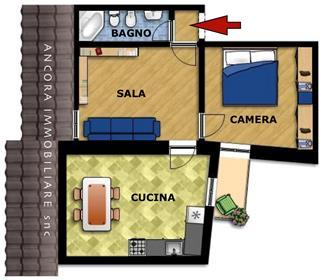Διαμέρισμα : 60 τ.μ.