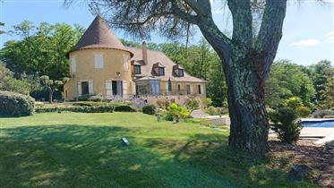 Château 685 m2 avec petit vignoble