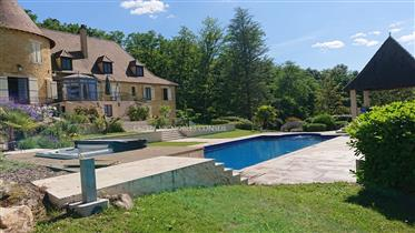 Residential Chateau with hobby vineyard under lease