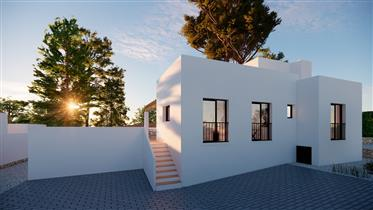 Quietly situated, renovated villa in Benissa