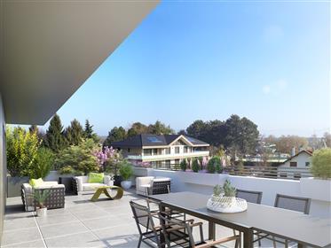 Appartement duplex neuf de 5 pièces à Divonne les Bains