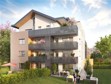 Appartement neuf de 4 pièces en attique à Divonne les Bains