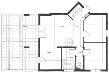 3 Pièces 68 m² + 37 m² de Terrasse- Tbe - Beau volume - Sur les hauteurs