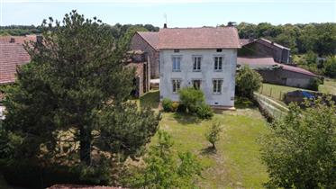 Bargain priced Maison de Maitre style house, with barn, cottage for renovation
