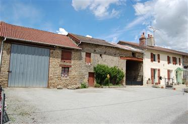 Amazing collection of stone buildings, with farmhouse and 60...