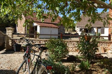 Exceptional fully renovated stone farmhouse with gite and 34...