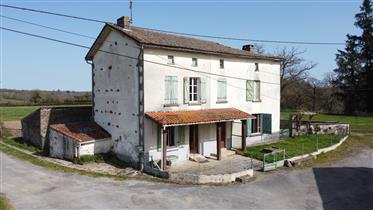 Old stone farmhouse with 1.5 hectares of attache land & smal...