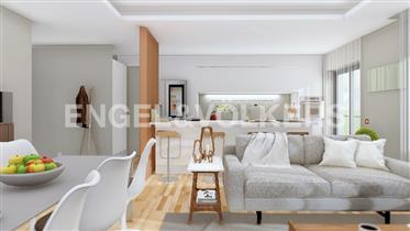 Moderno apartamento T2 novo no centro de Faro