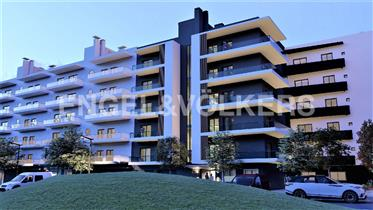 Apartamento T2 novo no centro de Faro
