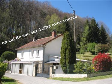 Maison en pierre enduite indépendante 5 chambres, ~116m² habitables, en cul de sac sur terrain de 1,